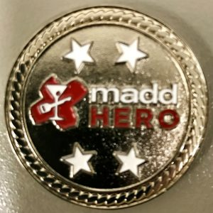 Challenge Coin - MADD - Georgia, State Office