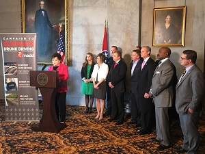 Millie speaking at Ignition Interlock Press Conference web version
