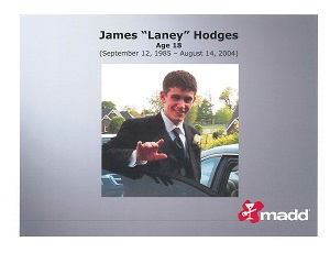 "James ""Laney"" Hodges slide"