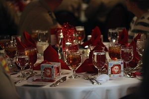 Night of Remembrance table setting