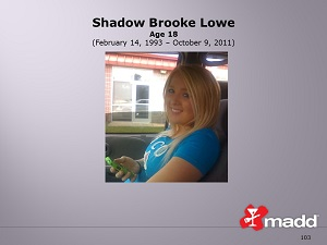 "Shadow ""Shada"" Brooke Lowe slide"