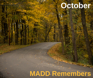 October 2017 MADD Remembers