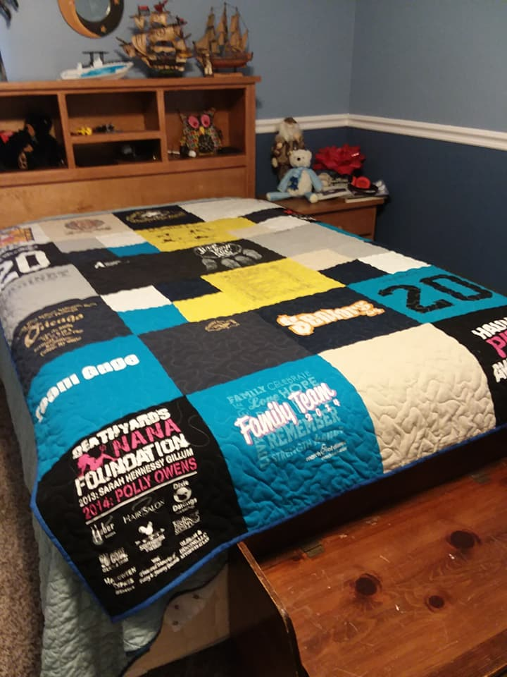 Gage's Quilt made by Kathy Woodall at Kathy's Krafts