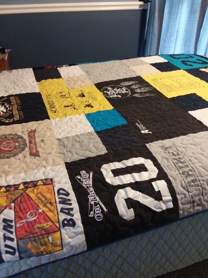 View 2 Gage's Quilt made by Kathy Woodall Kathy's Krafts