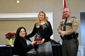 2017 MADD TN Employee of the Year Award Michelle Rozell