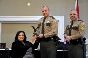 2017 Statewide Top DUI Enforcer Trooper Stoney Morton
