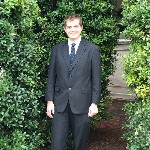 Jacob Akers in suit