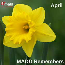 April MADD Remembers 2018