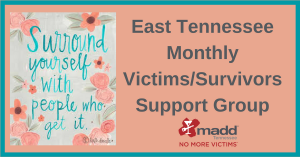 East TN Victim Support Group Event Header