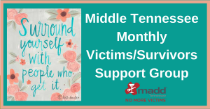 Middle TN Victim Support Group Event Header