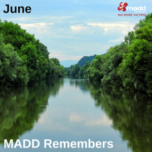 June 2018 MADD Remembers