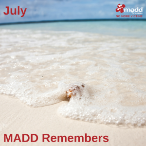July 2018 MADD Remembers