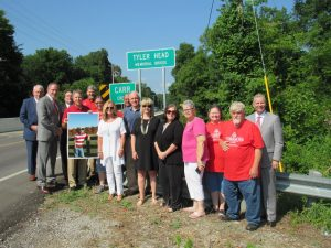 Tyler Head Memorial Bridge Dedication