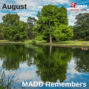 August 2018 MADD Remembers