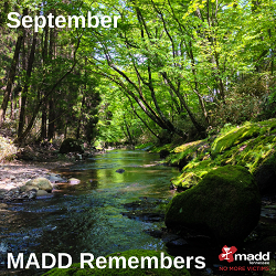 September 2018 MADD Remembers