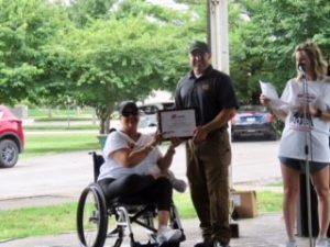 Top Fundraiser Sgt. Vinnie Turocy