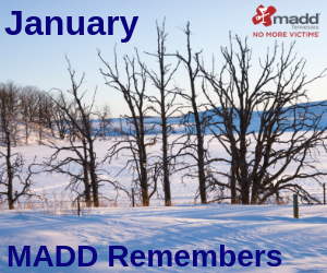 January 2019 MADD Remembers