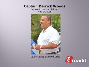 Captain Derrick Woods
