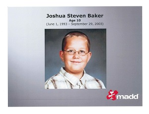Joshua Baker - MADD - Tennessee, State Office