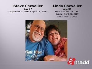 Steve and Linda Chevalier