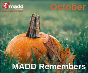 October 2019 MADD Remembers