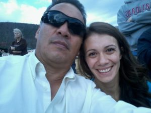 Francisco Romero with daughter, Veronica