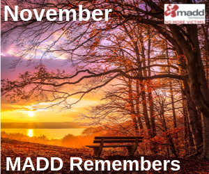 November 2019 MADD Remembers