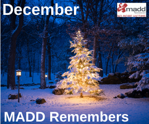 December 2019 MADD Remembers