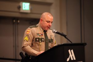 Co-emcee, Sgt. Vincent Turocy