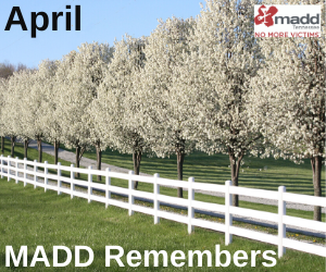 April 2020 MADD Remembers
