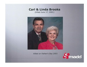 Carl and Linda Brooks