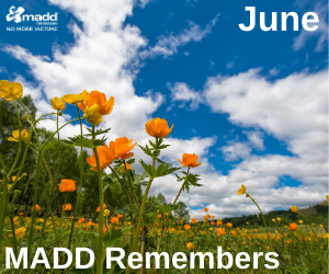 June 2020 MADD Remembers