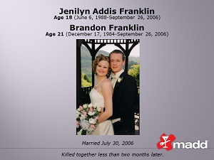 Jennilyn and Brandon Franklin