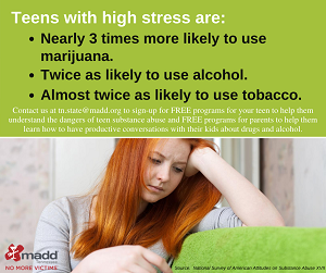Teens with high stress are_ web version