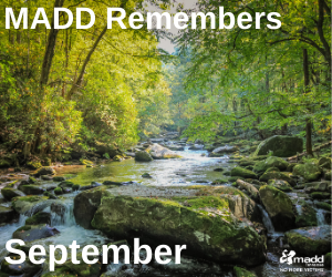 September 2020 MADD Remembers