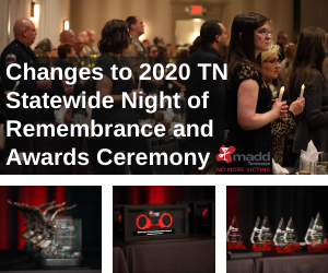 Changes to 2020 TN Statewide Night of Remembrance and Awards Ceremony