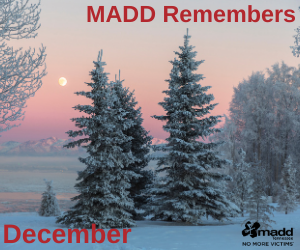 December 2020 MADD Remembers web version