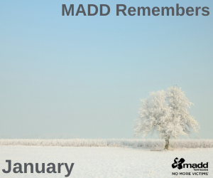 January 2021 MADD Remembers 300x250