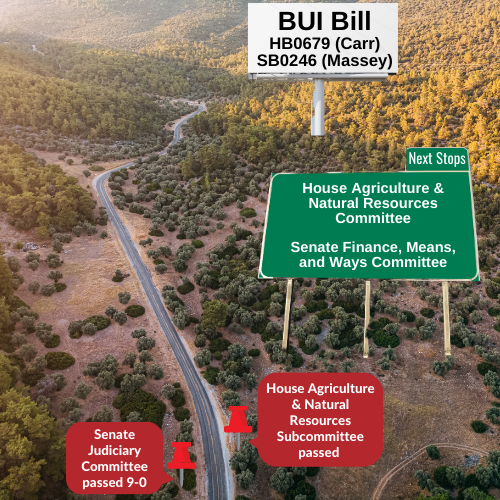 BUI - House Ag & Nat Res Subcommittee passed