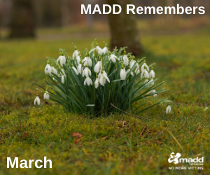 March 2021 MADD Remembers FB post web version