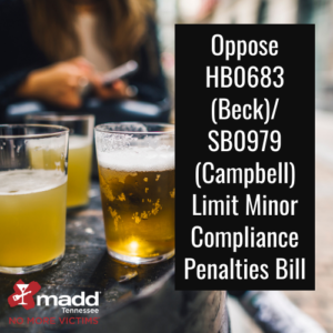 Oppose HB0683 (Beck)_ SB0979 (Campbell) Limit Minor Compliance Penalties Bill