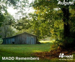 August 2021 MADD Remembers web version