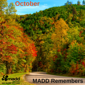 October 2021 MADD Remembers FB post version
