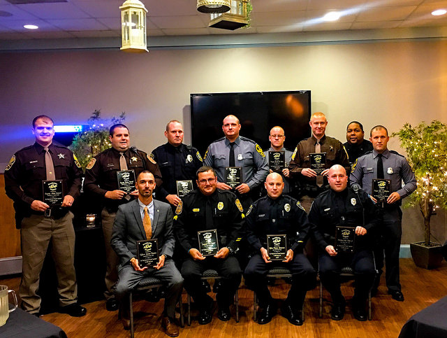 2017 VA Law Enforcement Awards Winners - MADD - Virginia, State Office