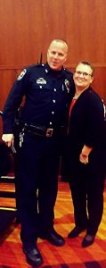 Theresa Martinez and Officer