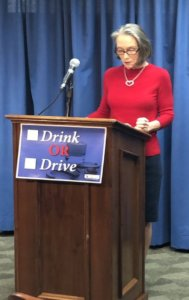 MADD National President Helen Witty advocates for lowering the BAC threshold in Michigan to .05.