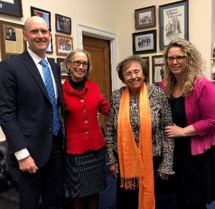 MADD meets with Representative Nita Lowey, one of MADD's 2019 legislative champions for her work to end drunk driving.